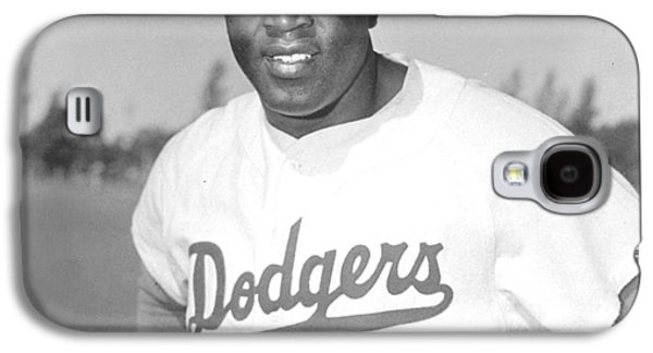 Series Photographs Galaxy S4 Cases - Jackie Robinson Poster Galaxy S4 Case by Gianfranco Weiss