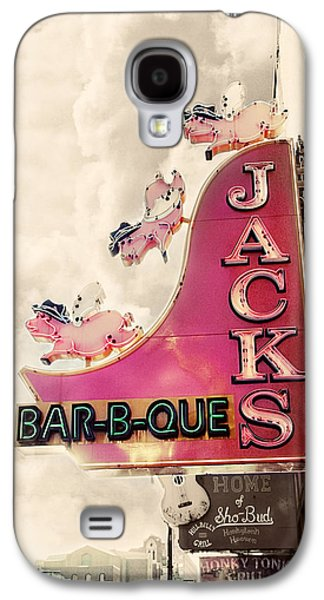 Signed Photographs Galaxy S4 Cases - Jacks BBQ Galaxy S4 Case by Amy Tyler