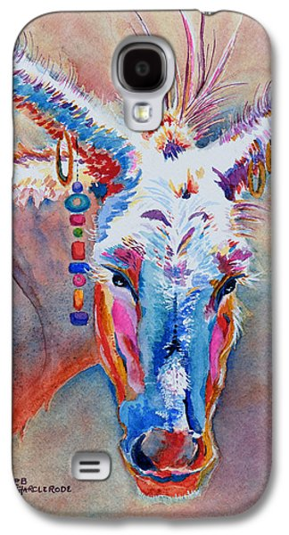 Sonora Paintings Galaxy S4 Cases - Jacks Girl Galaxy S4 Case by Deb  Harclerode