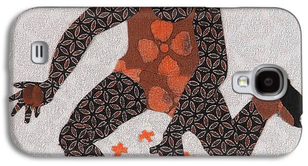 African-americans Tapestries - Textiles Galaxy S4 Cases - Jacks Galaxy S4 Case by Ruth Yvonne Ash