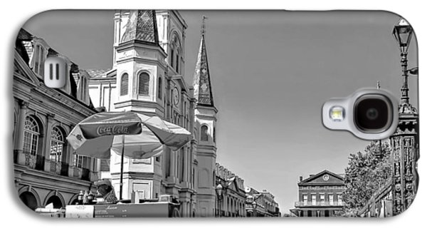 Lucky Dogs Galaxy S4 Cases - Jackson Square monochrome Galaxy S4 Case by Steve Harrington