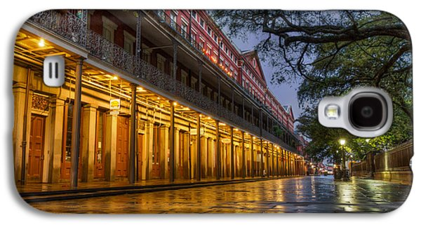 Louisiana Photographs Galaxy S4 Cases - Jackson Square Reflections Galaxy S4 Case by Tim Stanley
