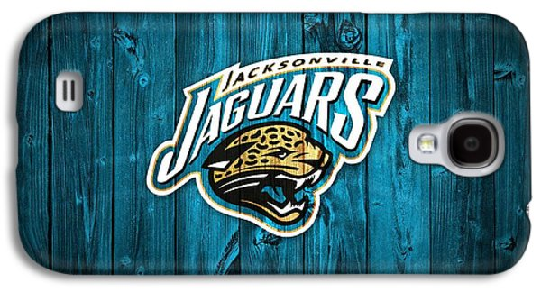 Espn Galaxy S4 Cases - Jacksonville Jaguars Barn Door Galaxy S4 Case by Dan Sproul