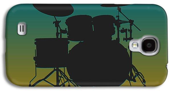 Jacksonville Jaguars Drum Set Galaxy S4 Case by Joe Hamilton