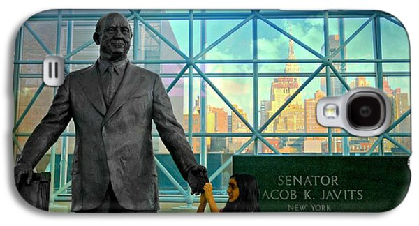 Former Senators Galaxy S4 Cases - Jacob K. Javits Galaxy S4 Case by Diana Angstadt