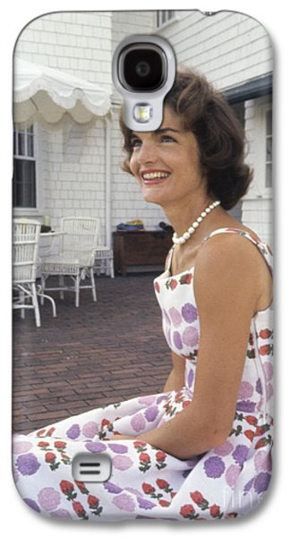 First-lady Galaxy S4 Cases - Jacqueline Kennedy at Hyannis Port 1959 Galaxy S4 Case by The Phillip Harrington Collection