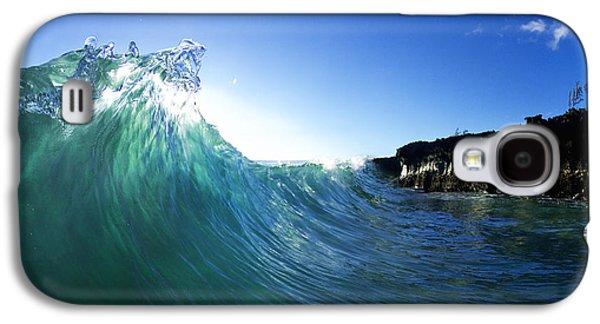 Surrealism Photographs Galaxy S4 Cases - Jade Crystal Galaxy S4 Case by Sean Davey
