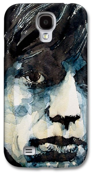 Mick Jagger Galaxy S4 Cases - Jagger no3 Galaxy S4 Case by Paul Lovering