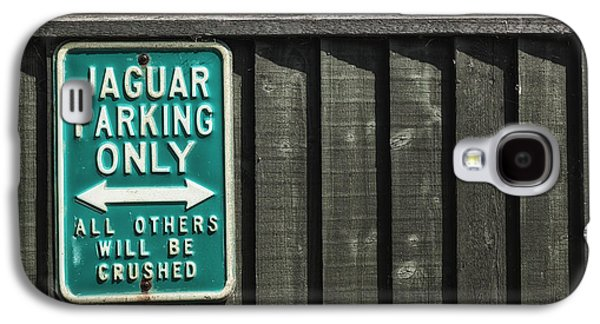 Signed Photographs Galaxy S4 Cases - Jaguar car park Galaxy S4 Case by Joana Kruse