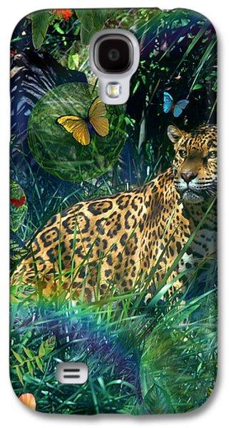 Jaguar Meadow Galaxy S4 Case by Alixandra Mullins