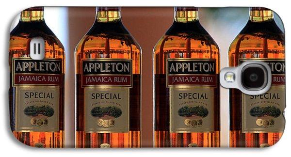 Appleton Photographs Galaxy S4 Cases - Jamaican Rum Dark Galaxy S4 Case by Marjorie Imbeau