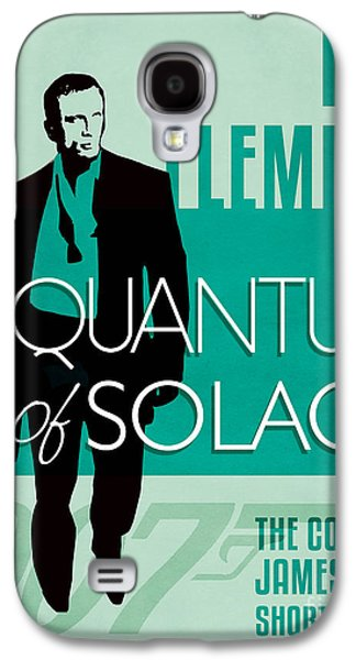 Book Of Daniel Galaxy S4 Cases - James Bond Book Cover Movie Poster Art 3 Galaxy S4 Case by Nishanth Gopinathan