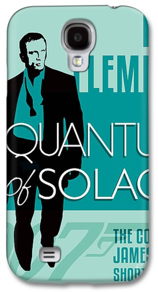 Book Of Daniel Galaxy S4 Cases - James Bond Book Cover Movie Poster Art 4 Galaxy S4 Case by Nishanth Gopinathan