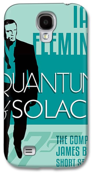 Book Of Daniel Galaxy S4 Cases - James Bond Book Cover Movie Poster Art 5 Galaxy S4 Case by Nishanth Gopinathan