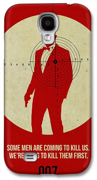Cult Digital Art Galaxy S4 Cases - James Bond Skyfall Poster Galaxy S4 Case by Naxart Studio