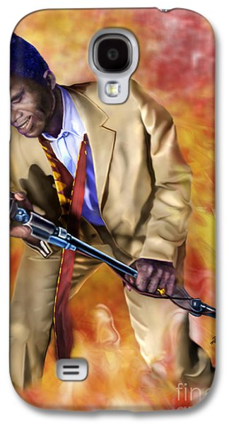 James Brown And His Famous Flames Galaxy S4 Case by Reggie Duffie