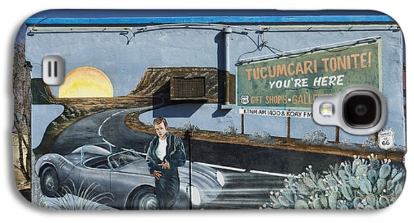 50s Photographs Galaxy S4 Cases - James Dean Mural in Tucumcari on Route 66 Galaxy S4 Case by Carol Leigh