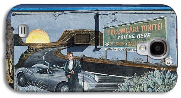 Mural Photographs Galaxy S4 Cases - James Dean Mural in Tucumcari on Route 66 Galaxy S4 Case by Carol Leigh