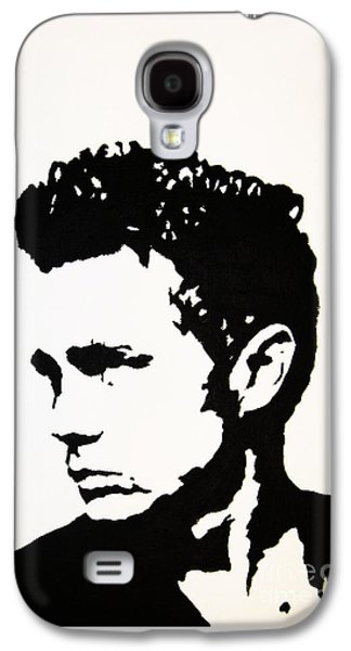 Painter Photo Mixed Media Galaxy S4 Cases - James Dean Galaxy S4 Case by Venus