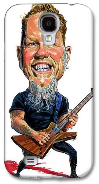 Metallica Galaxy S4 Cases - James Hetfield Galaxy S4 Case by Art