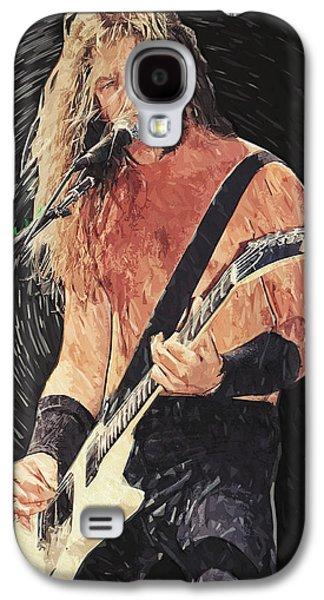 Metallica Galaxy S4 Cases - James Hetfield Galaxy S4 Case by Taylan Soyturk