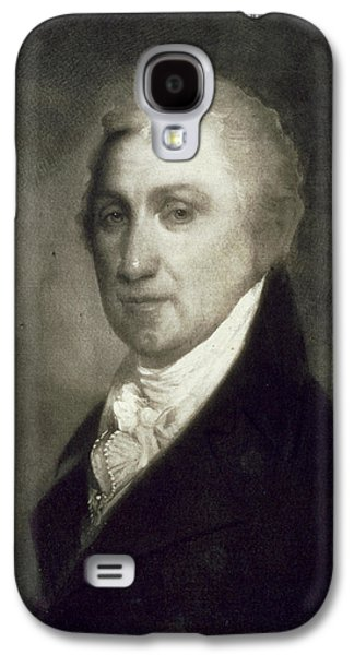 Politician Paintings Galaxy S4 Cases - James Monroe Galaxy S4 Case by American School