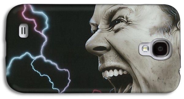 Metallica Galaxy S4 Cases - James Wrath Galaxy S4 Case by Christian Chapman Art