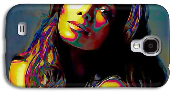 Janet Jackson Galaxy S4 Case by  Fli Art