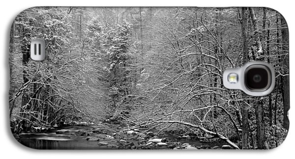 White River Scene Photographs Galaxy S4 Cases - January Gift Galaxy S4 Case by Michael Eingle