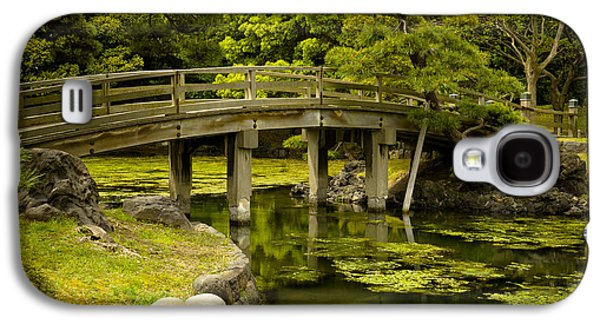 Landscapes Photographs Galaxy S4 Cases - Japanese Garden Tokyo Galaxy S4 Case by Sebastian Musial