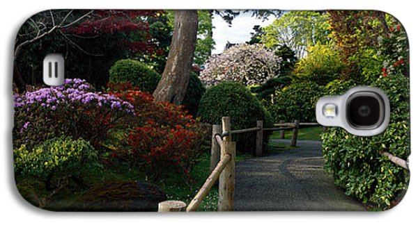 Landscapes Photographs Galaxy S4 Cases - Japanese Tea Garden, San Francisco Galaxy S4 Case by Panoramic Images