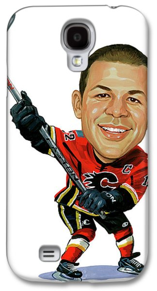 Person Galaxy S4 Cases - Jarome Iginla Galaxy S4 Case by Art