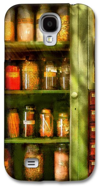 Suburban Digital Art Galaxy S4 Cases - Jars - Ingredients II Galaxy S4 Case by Mike Savad