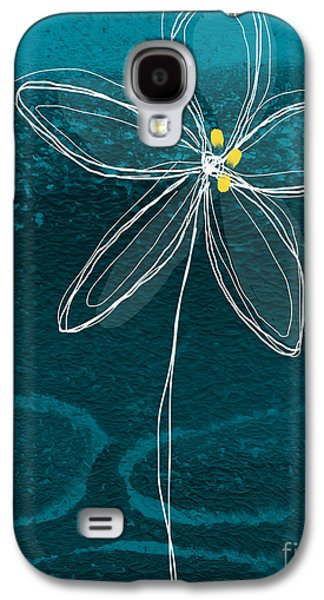 Studio Mixed Media Galaxy S4 Cases - Jasmine Flower Galaxy S4 Case by Linda Woods