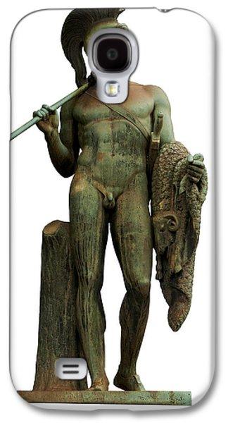 Greek Sculpture Galaxy S4 Cases - Jason and the golden fleece Galaxy S4 Case by Fabrizio Troiani