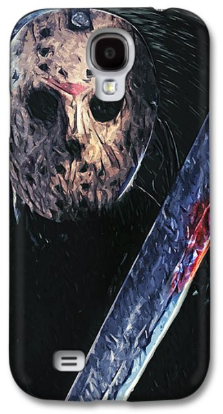 Fictional Galaxy S4 Cases - Jason Voorhees Galaxy S4 Case by Taylan Soyturk