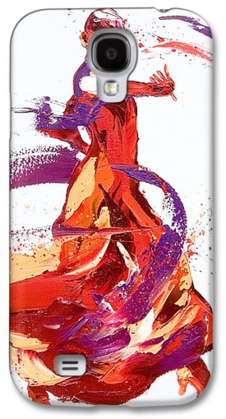 Abstract Movement Galaxy S4 Cases - Jaunt Galaxy S4 Case by Penny Warden