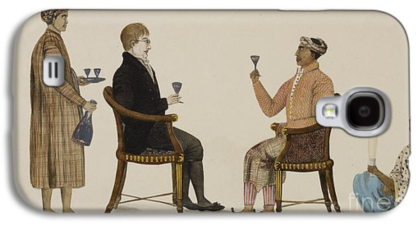 Wine Service Galaxy S4 Cases - Javanese Grandee Galaxy S4 Case by British Library