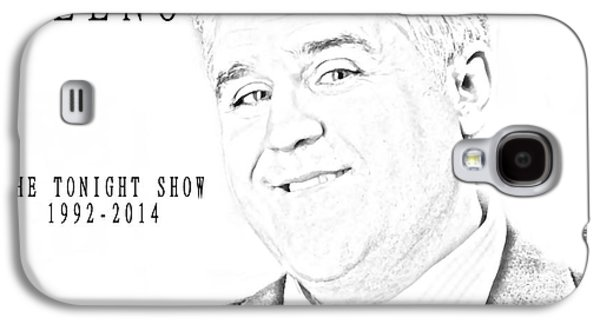 Smiling Mixed Media Galaxy S4 Cases - Jay Leno And The Tonight Show Galaxy S4 Case by Dan Sproul