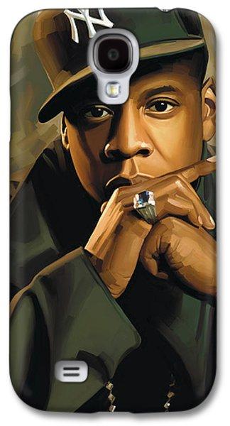 Jay-z Artwork 2 Galaxy S4 Case by Sheraz A
