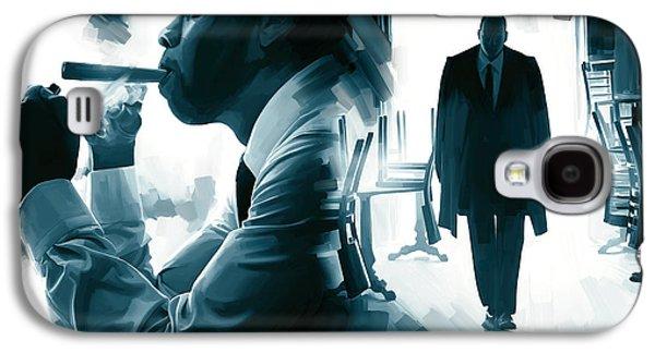 Jay-z Artwork 3 Galaxy S4 Case by Sheraz A