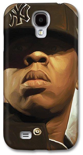Jay-z Artwork Galaxy S4 Case by Sheraz A