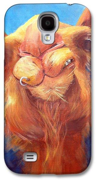 Jay Z Paintings Galaxy S4 Cases - Jay Z Camel Galaxy S4 Case by Deborah Naves
