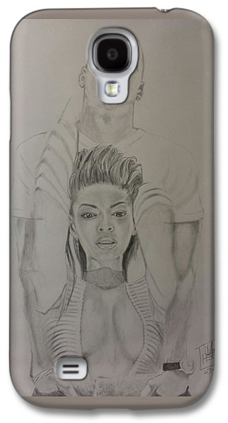 Jay Z Galaxy S4 Cases - JayBey Galaxy S4 Case by DMo Herr