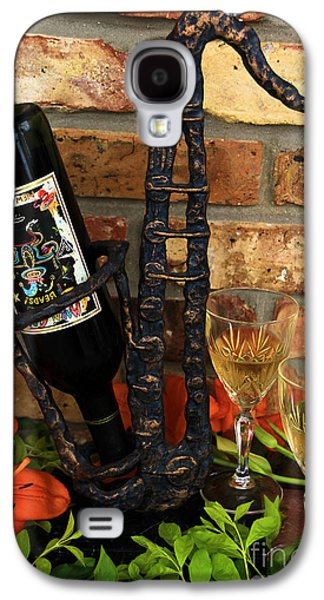 Wine Holder Galaxy S4 Cases - Jazzing up the Big Easy Galaxy S4 Case by Karry Degruise