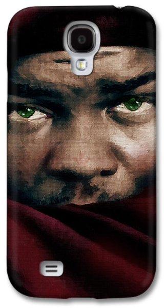 Mixed Media Galaxy S4 Cases - Jealous Othello Galaxy S4 Case by Georgiana Romanovna