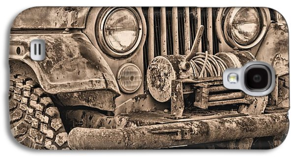 Recently Sold -  - Landmarks Photographs Galaxy S4 Cases - Jeep CJ Function over Form Galaxy S4 Case by JC Findley