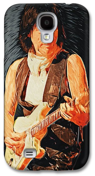 Jeff Beck Galaxy S4 Case by Taylan Soyturk