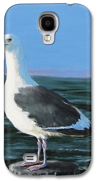 Jack Skinner Galaxy S4 Cases - Jeff The Seagull Galaxy S4 Case by Jack Skinner
