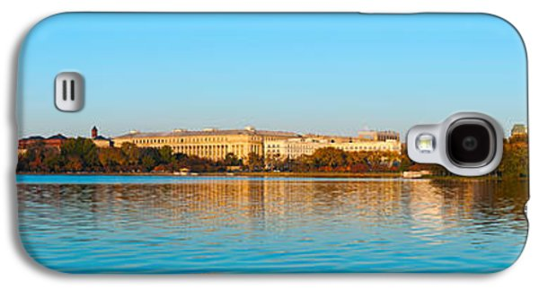 Jefferson Memorial And Washington Galaxy S4 Case by Panoramic Images